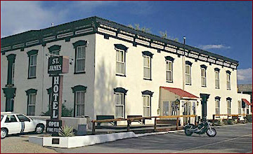 Cimarron, New mexico's historic St. James Hotel